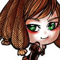 Une petite chibi, de mon dernier personnage , qui manque encore d'info XD  Artiste peintre et femme de joie...